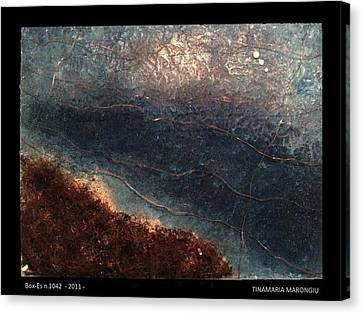 Box-es N.1042 - 2011 Canvas Print by Tinamaria Marongiu