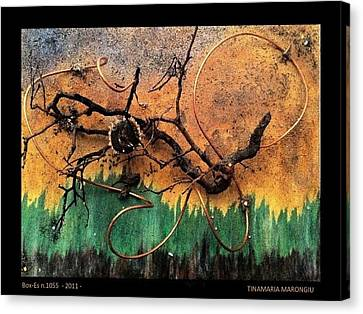 Box-es N.1055 - 2011 Canvas Print by Tinamaria Marongiu