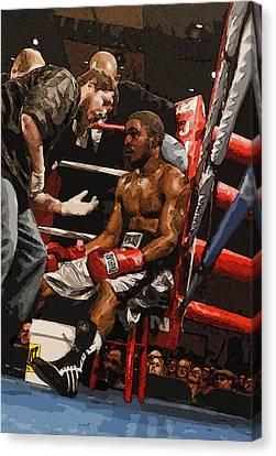 Boxer Canvas Print by Wade Aiken