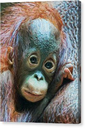 Boy Of The Forest Canvas Print by Wade Aiken