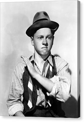 Boys Town, Mickey Rooney, 1938 Canvas Print by Everett