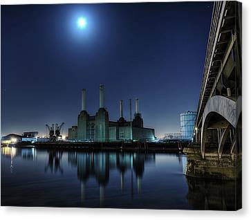 Bps By Moonlight Canvas Print by Michael Murphy