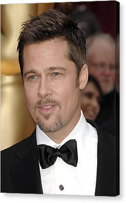 Brad Pitt At Arrivals For 81st Annual Canvas Print by Everett