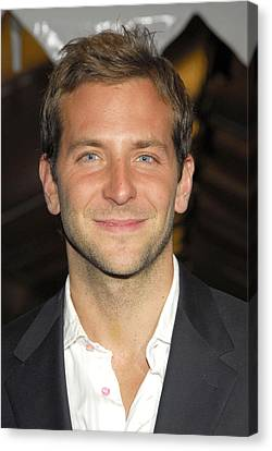Bradley Cooper At Arrivals For Failure Canvas Print by Everett