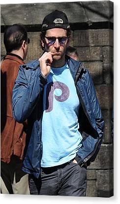 Bradley Cooper On Location Film Shoot Canvas Print by Everett