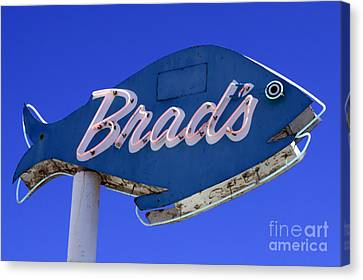 Canvas Print featuring the photograph Brad's Fish by Denise Pohl