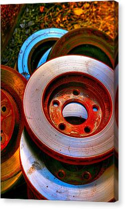 Brakes Canvas Print by Terry Finegan