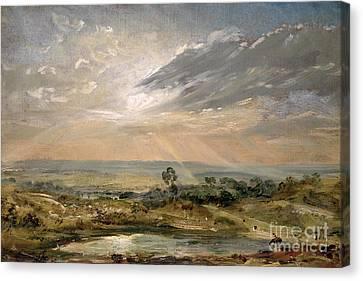 Branch Hill Pond Hampstead Canvas Print
