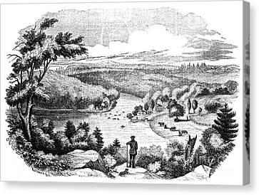 Brandywine Battlefield Canvas Print by Granger
