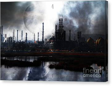 Brave New World - Version 1 - 7d10358 Canvas Print
