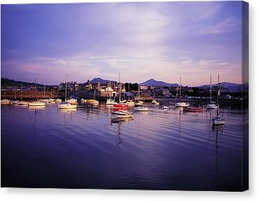 Bray Harbour, Co Wicklow, Ireland Canvas Print by The Irish Image Collection