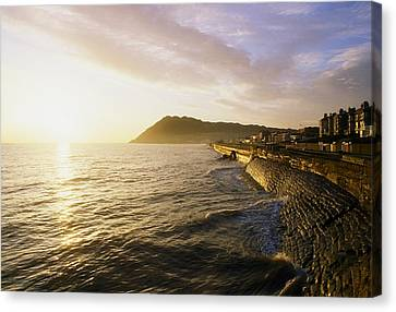Bray Promenade, Co Wicklow, Ireland Canvas Print by The Irish Image Collection
