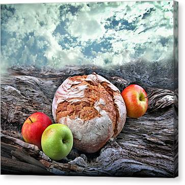 Bread Of The World Canvas Print by Manfred Lutzius