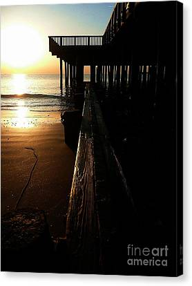 Break Of Day Canvas Print by Scott Allison