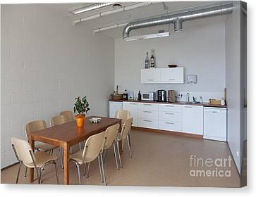 Break Room Canvas Print by Jaak Nilson