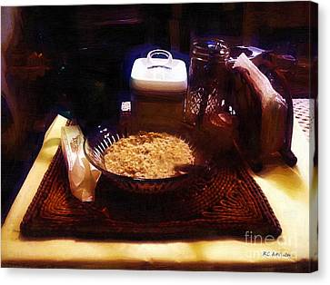 Breakfast Of Champions Canvas Print by RC DeWinter