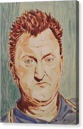 Brendan Behan Canvas Print by John  Nolan