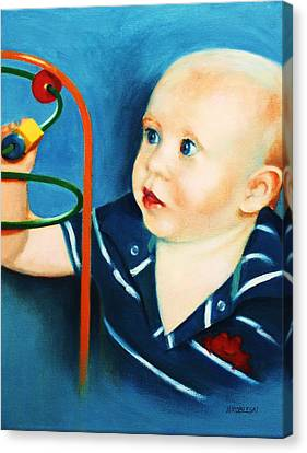 Brent Canvas Print by Peggy Wrobleski
