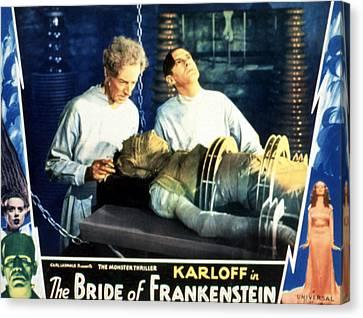 Bride Of Frankenstein, Ernest Thesiger Canvas Print by Everett