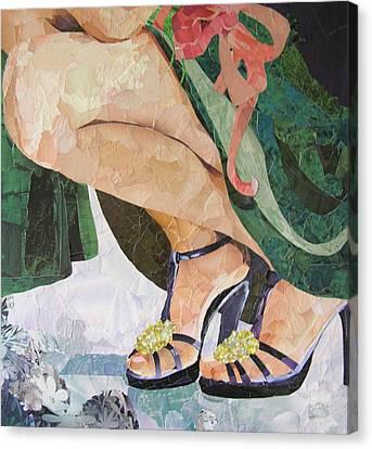 Bridesmaid Canvas Print by Robin Birrell