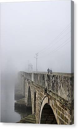 Bridge - 3 Canvas Print by Okan YILMAZ