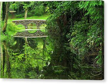 Bridge Of Tranquillity Canvas Print