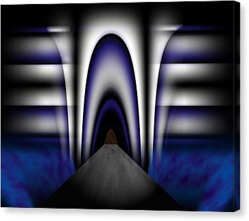 Bridge Over Troubled Waters Canvas Print by Christopher Gaston