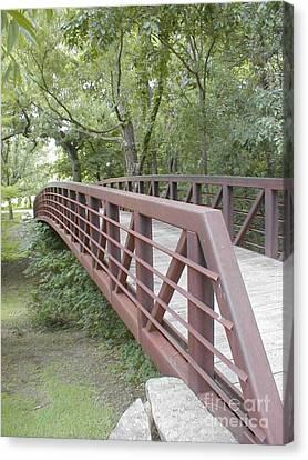 Bridge To Beyond Canvas Print by Vonda Lawson-Rosa