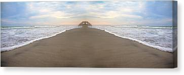 Bridge To Parallel Universes  Canvas Print by Betsy Knapp