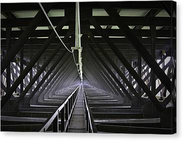 Bridge To The Other Side Canvas Print by Teresa Mucha