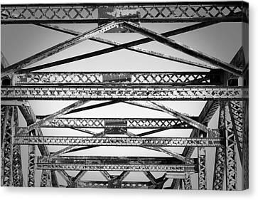 Bridge Truss Canvas Print
