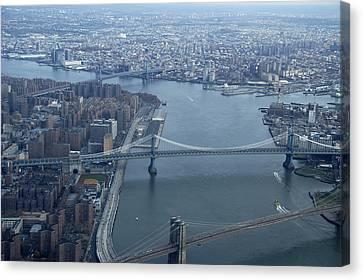 Bridges Canvas Print by Avery Eden