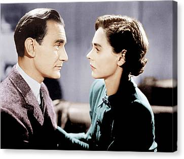 Brief Encounter, From Left Trevor Canvas Print by Everett