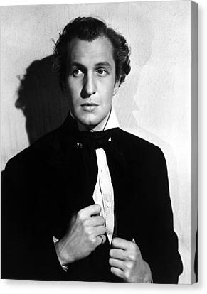 Brigham Young, Vincent Price, 1940 Canvas Print by Everett