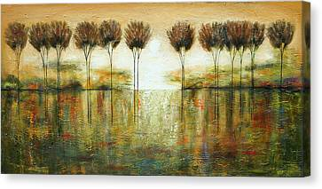 Bright Forest Canvas Print