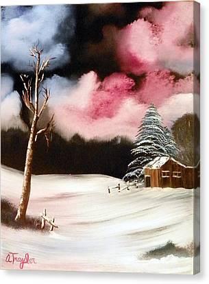 Bright Night Canvas Print by Amity Traylor