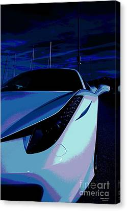 Bright Night Canvas Print by Rogerio Mariani