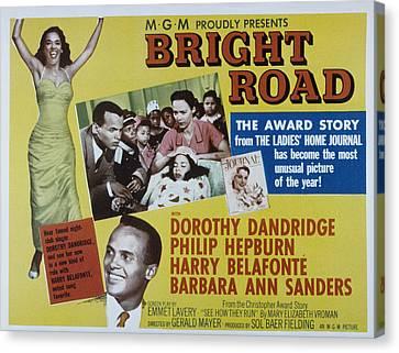 Bright Road, Dorothy Dandridge, Harry Canvas Print by Everett
