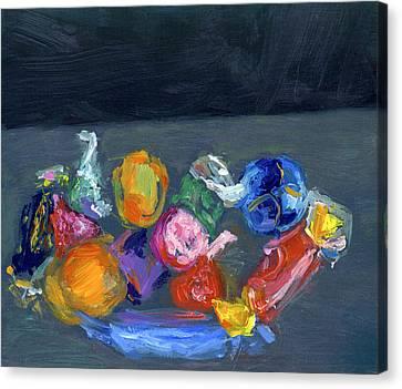 Bright Things Canvas Print by Scott Bennett