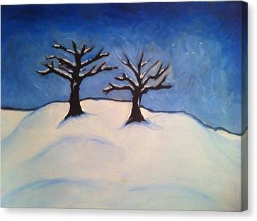 Brisk Winter Canvas Print