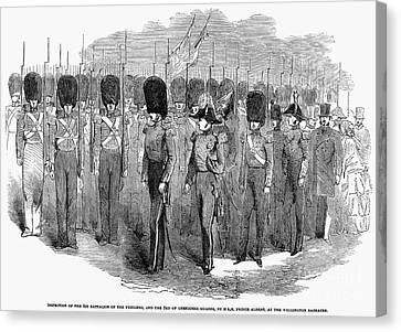 Britain: Fusiliers, 1854 Canvas Print by Granger