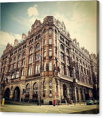 #britanniahotel  #hotel #buildings Canvas Print by Abdelrahman Alawwad