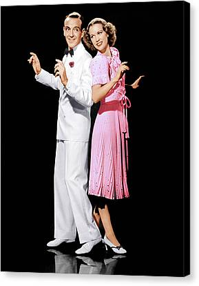 Broadway Melody Of 1940, From Left Fred Canvas Print by Everett
