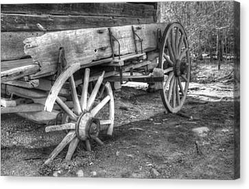 Broken Past Canvas Print by Greg and Chrystal Mimbs