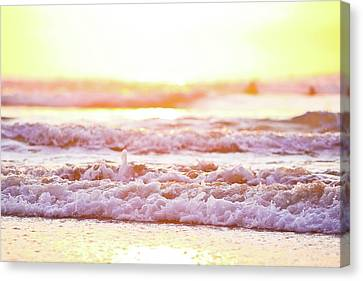 Broken Waves Canvas Print by Sasha Bell