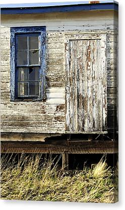 Canvas Print featuring the photograph Broken Window by Fran Riley