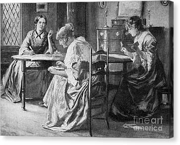 Bront� Sisters Canvas Print by Granger