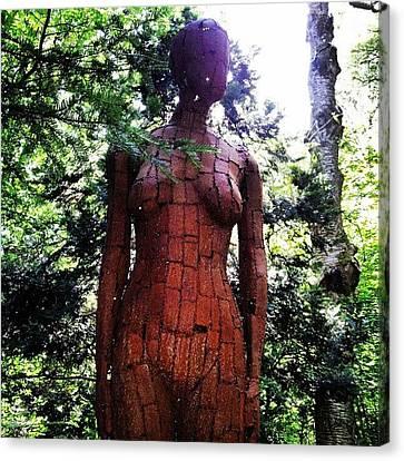 Bronze Lady 1 Canvas Print by Natasha Futcher