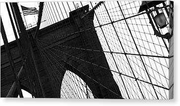 Brooklyn Lines Canvas Print by Gilles Rousel