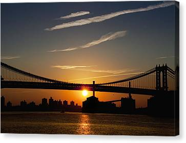 Brooklyn Sunrise Canvas Print